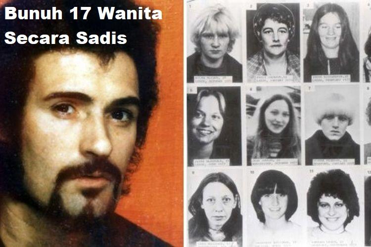 Bunuh 17 Wanita Secara Sadis
