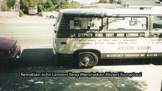 Kematian John Lennon Yang Menyisakan Misteri Konspirasi